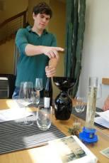 Matthias prowadzi naszą degustację