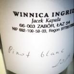 i doskonałe Pinot Blanc 2014